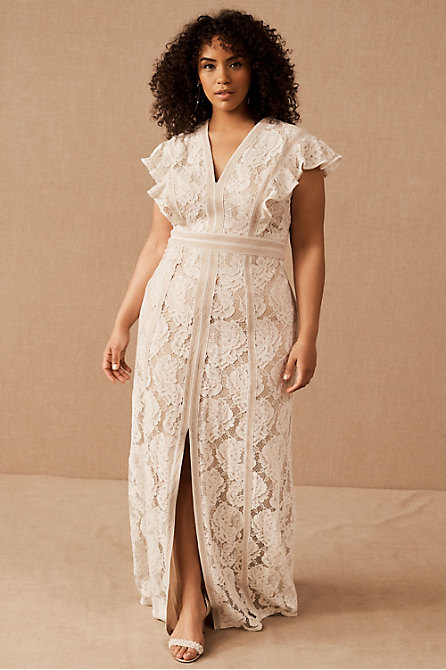 Plus Size Wedding Dresses Gowns Bhldn