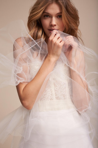 Twigs & Honey Ivory Zadia Tulle Petticoat | BHLDN