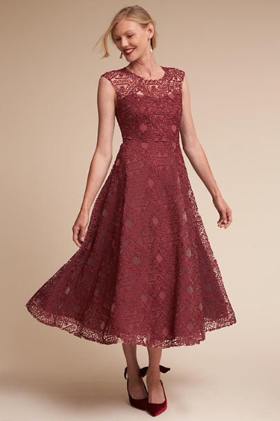 970d35ec0c BHLDN Red Presley Dress