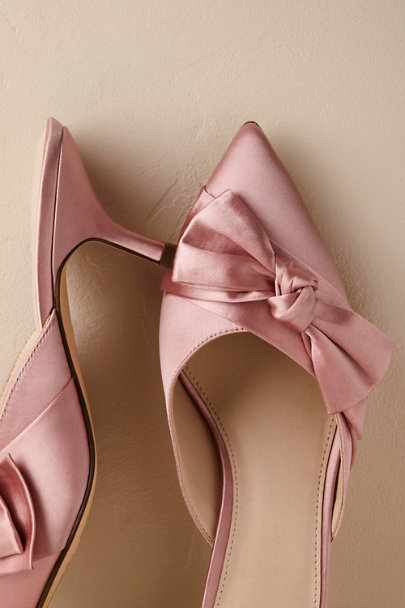 Hitherto Blush Lia Mules | BHLDN