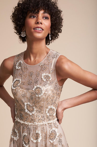 BHLDN Champagne Verdure Gown | BHLDN