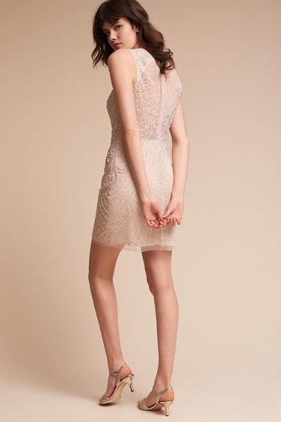 Aidan Mattox Champagne Encore Dress | BHLDN