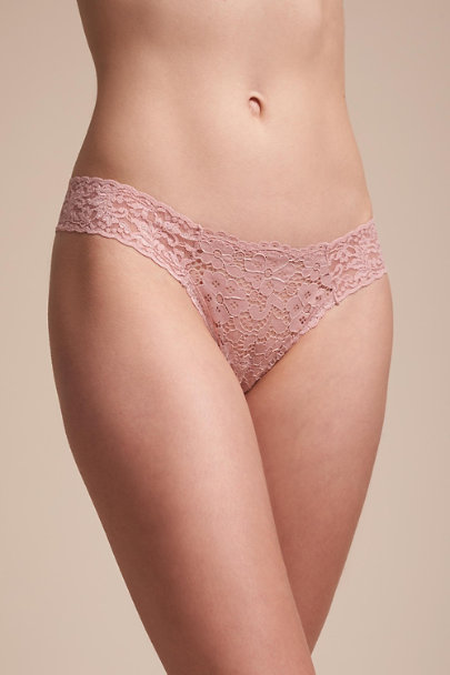 Hanky Panky Blush Joslin Thong | BHLDN