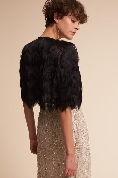 Jenny Yoo Black Haven Jacket | BHLDN