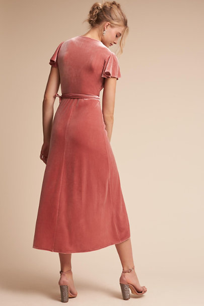 BHLDN Dusty Rose Thrive Dress | BHLDN