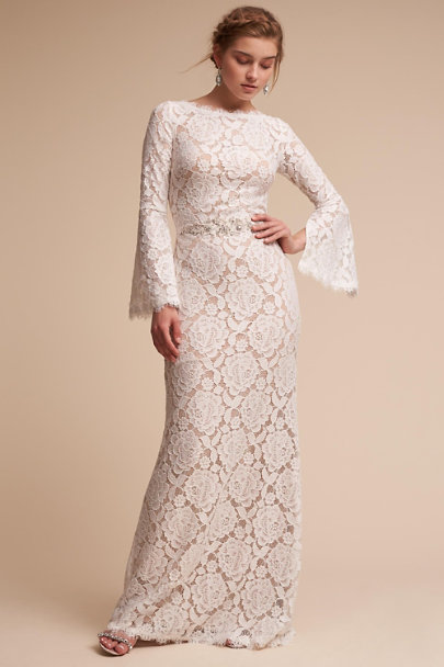 BHLDN Ivory/Champagne Foster Dress | BHLDN