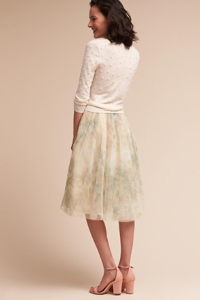 Jenny Yoo Ivory Perla Top  | BHLDN