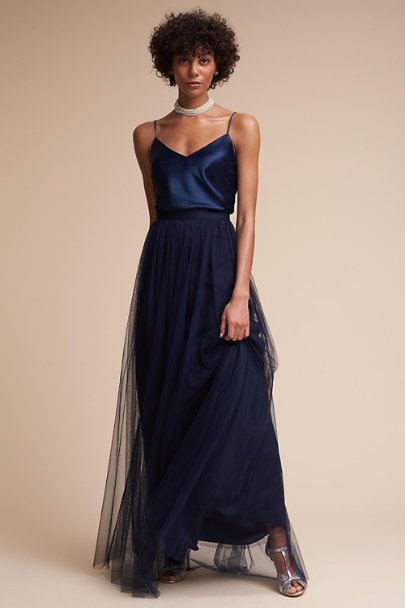 Long camisole top dress
