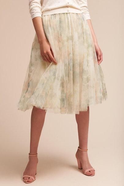 9ac5360d15ec Jenny Yoo Ivory Sage Lucy Skirt