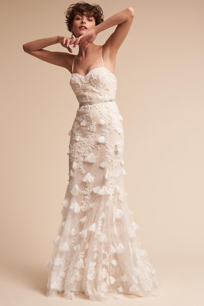 Etoile Cream Raina Gown | BHLDN