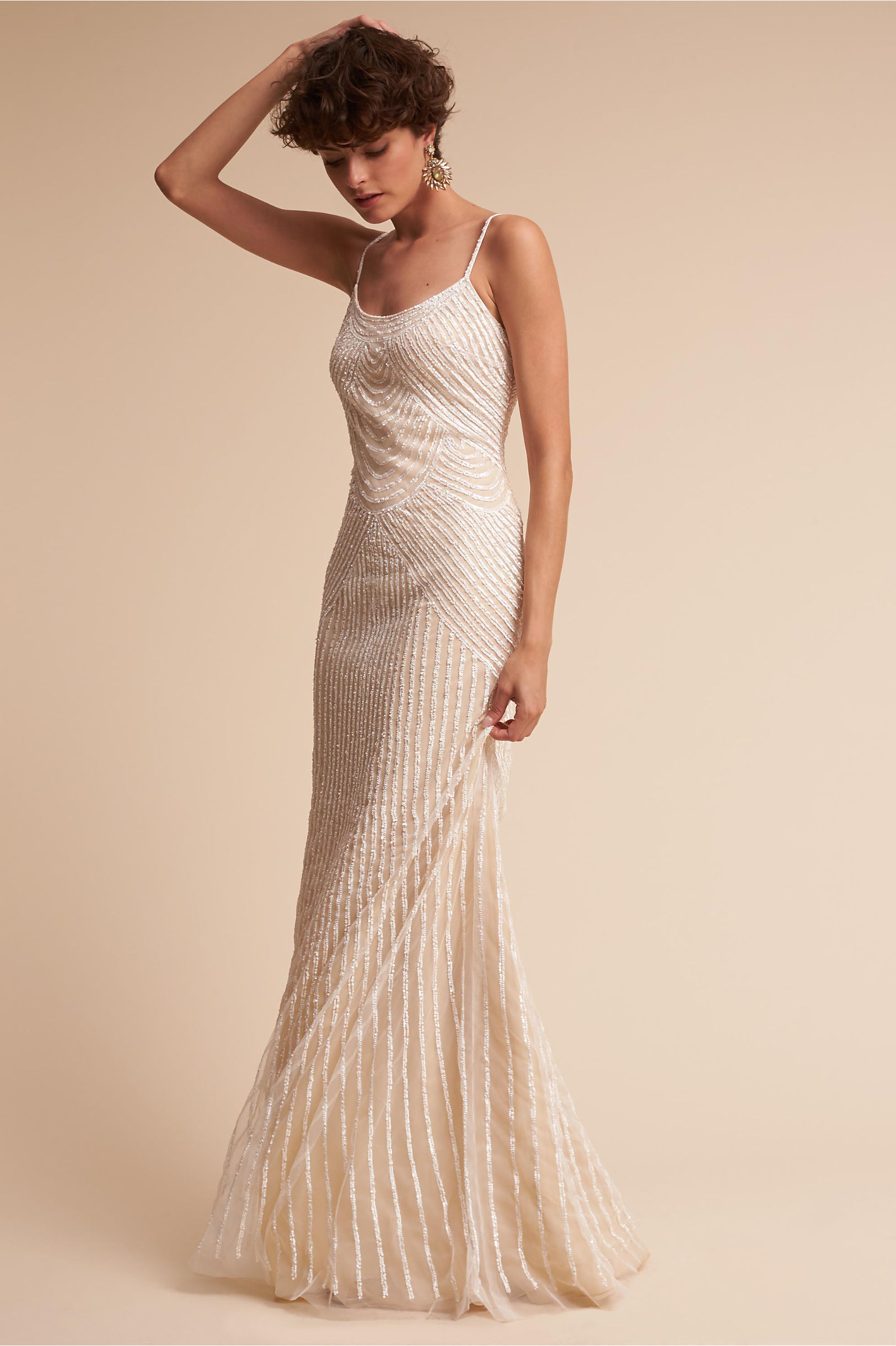Stasia Gown Cream in Sale | BHLDN