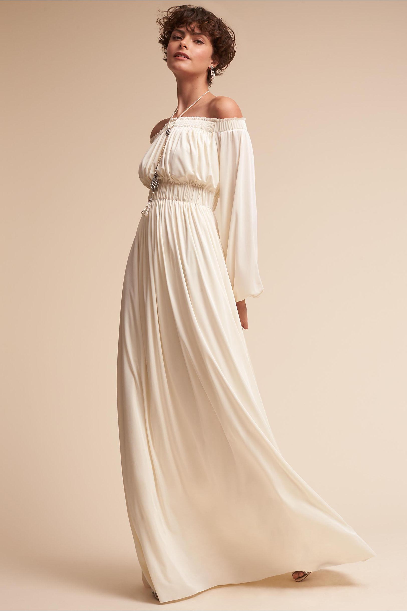 Miranda Gown Cream in Sale | BHLDN