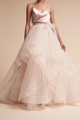 Tulle wedding skirts tulle dresses for bride bhldn effie skirt effie skirt junglespirit Gallery