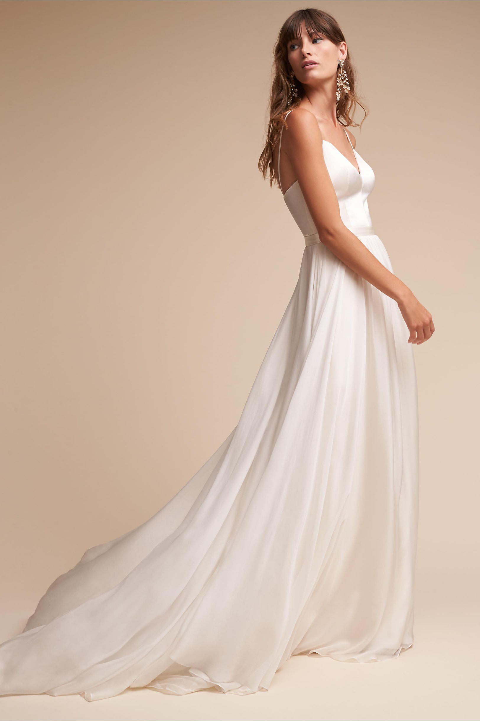 Kameron Gown Cream in Sale | BHLDN