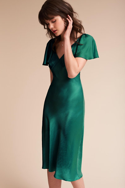 Ghost London Emerald Sea Giselle Dress | BHLDN
