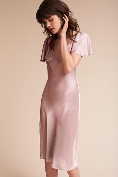 Ghost London Boudoir Pink Giselle Dress | BHLDN