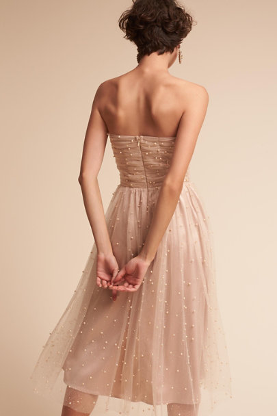 BHLDN Ivory/Nude Anya Dress | BHLDN