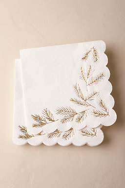 Winter Fir Napkins (16)