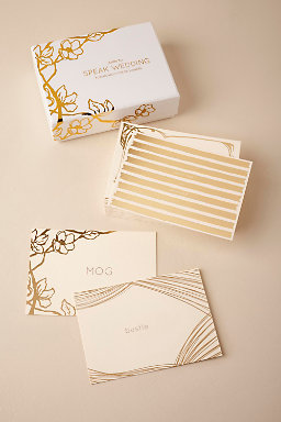 Wedding Lingo Flashcards