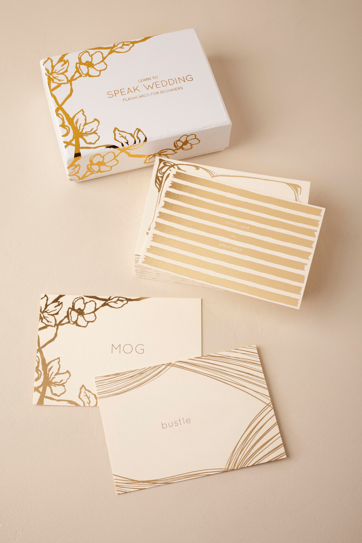 Wedding Lingo Flashcards