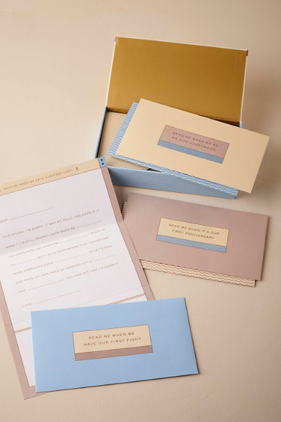 Cream Love Letter Set | BHLDN