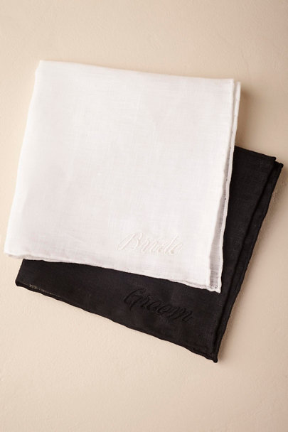 Multi Bride & Groom Handkerchiefs (2) | BHLDN