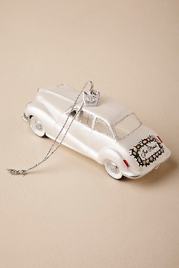Just Married! Ornament