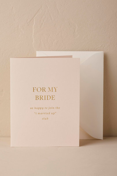 Pink To My Beloved Card | BHLDN