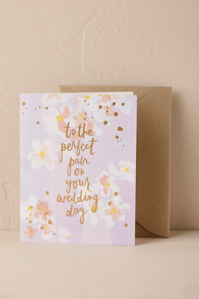 Our Heiday Lilac A Perfect Pair Card | BHLDN