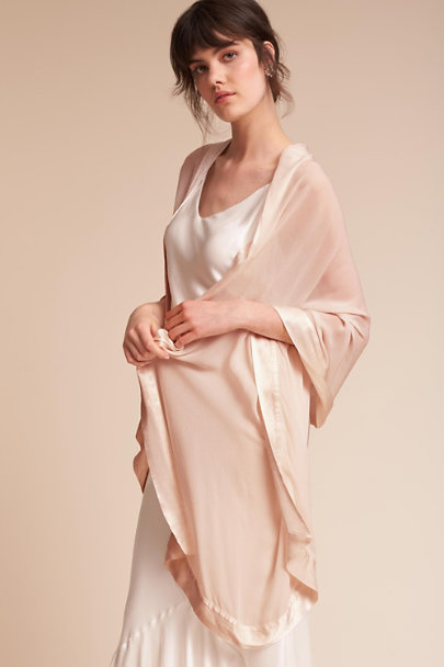 Ghost London Oyster Zara Shawl | BHLDN