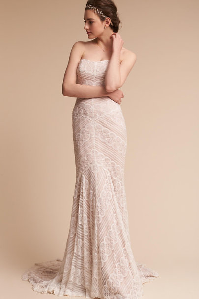 Watters Ivory Pippin Gown | BHLDN