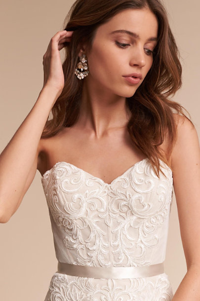 Watters Ivory Alice Gown | BHLDN