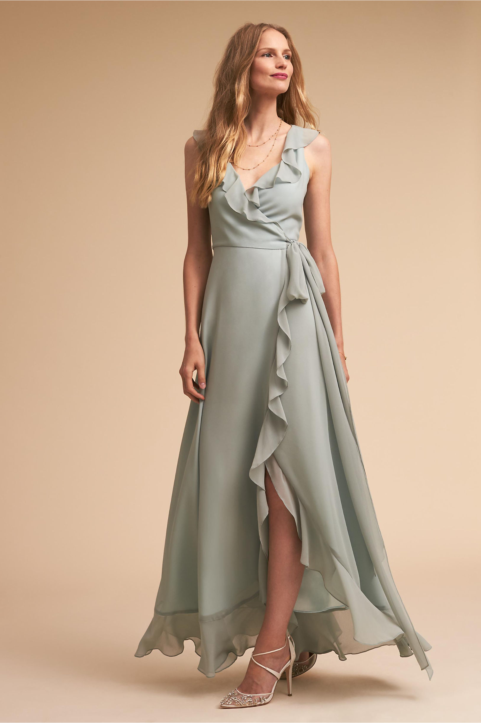 Green bridesmaid dresses bhldn julliard dress ombrellifo Choice Image