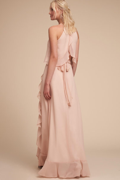 Donna Morgan Blush Etoile Skirt | BHLDN