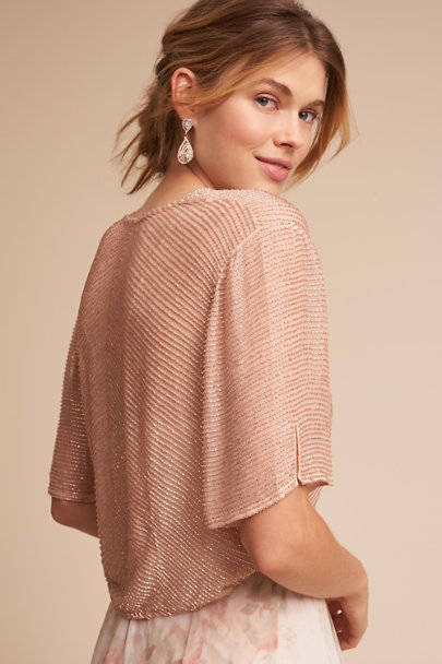 Lotus Threads Blush Valencia Jacket | BHLDN