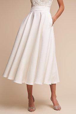 Bridal Skirts & Tulle Wedding Skirts | BHLDN