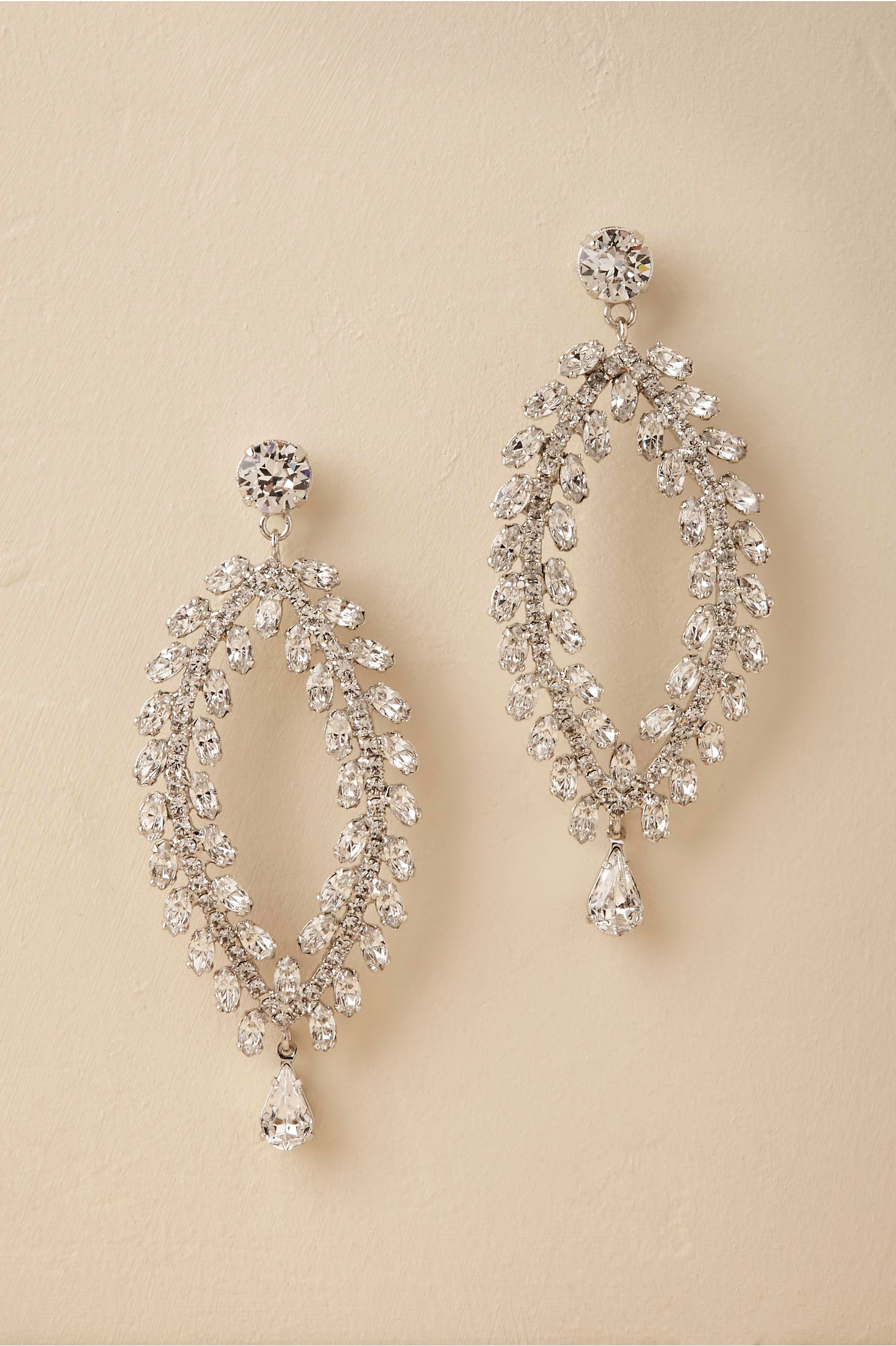 Victoire chandelier earrings silver in bride bhldn silver victoire chandelier earrings bhldn arubaitofo Choice Image