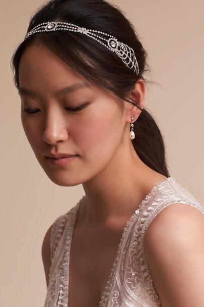 67d634de08f6 Jennifer Behr Silver Dakota Headband