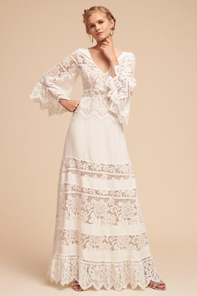 Vintage Inspired Wedding Dress | Vintage Style Wedding Dresses Aspen Gown $550.00 AT vintagedancer.com