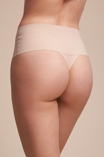 Spanx Nude SPANX Smoothing Thong | BHLDN
