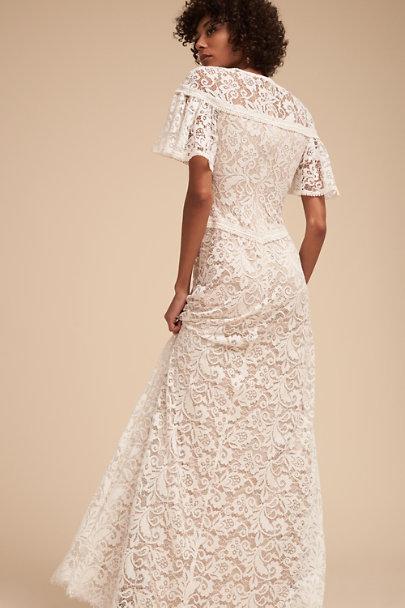 e57c77fe48 ... Tadashi Shoji Ivory Copeland Gown
