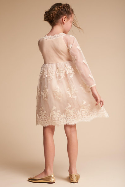 Ivory/Blush Liza Dress | BHLDN