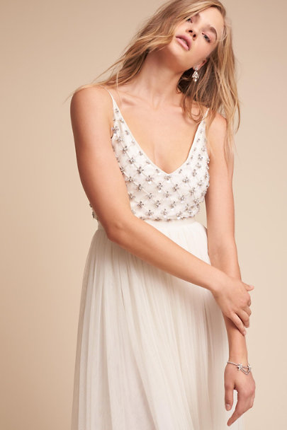 Ranna Gill Ivory Myra Dress | BHLDN