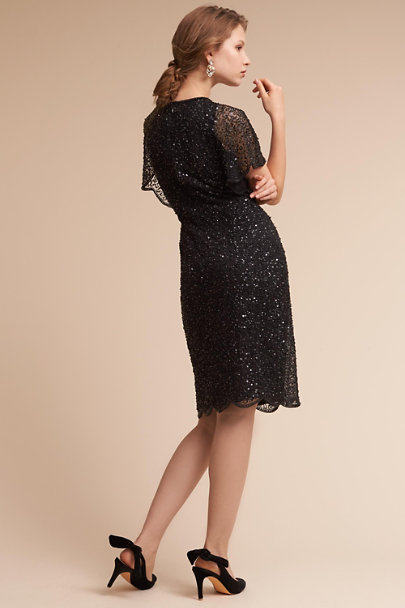 Adrianna Papell Black Elin Dress | BHLDN