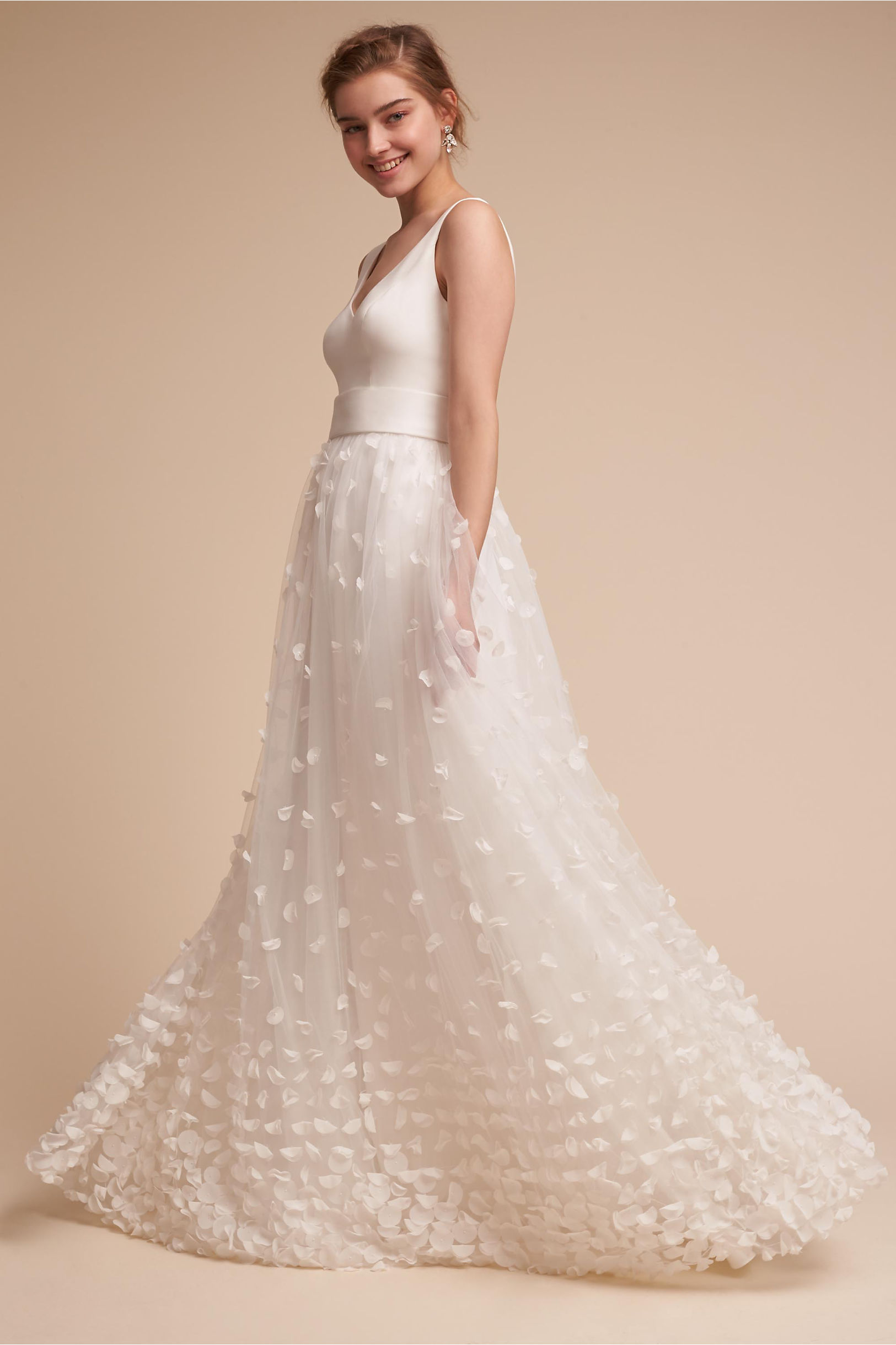 Mimi Gown Ivory in Sale | BHLDN