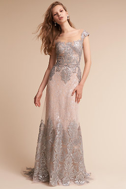 Beaded Dresses Embroidered