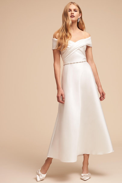 Theia Bridal Ivory Molly Gown | BHLDN