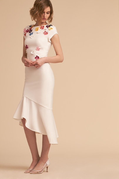 Theia Bridal Ivory Michelle Dress Bhldn