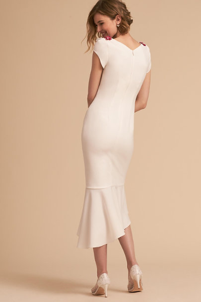 Theia Bridal Ivory Michelle Dress | BHLDN