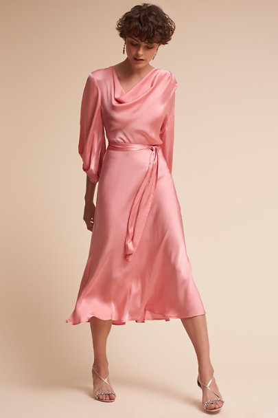 Ghost London Cameo Pink Astrid Dress | BHLDN